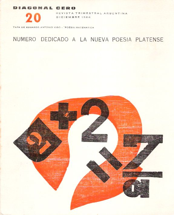 Número 20 de la revista Diagonal Cero, 1966
